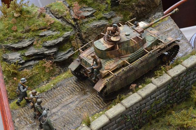 rc tank battlefield